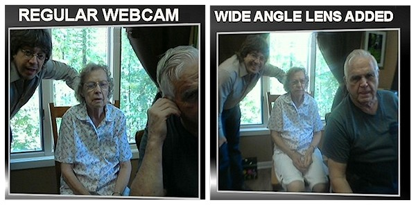 Webcam Before and After