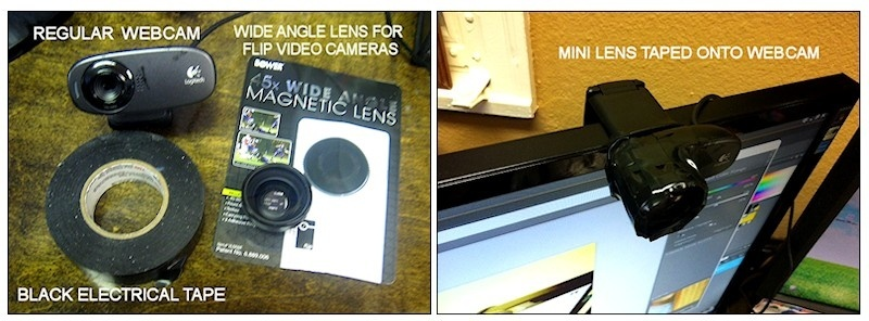 My Wide Angle Webcam Supplies