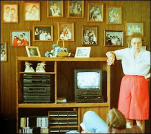 Rector Family Photo Wall 1994