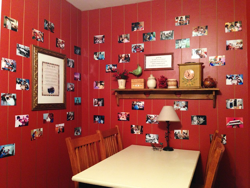 My Kitchen Photo Wall
