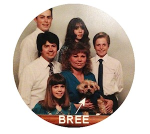 With Family Pet Bree